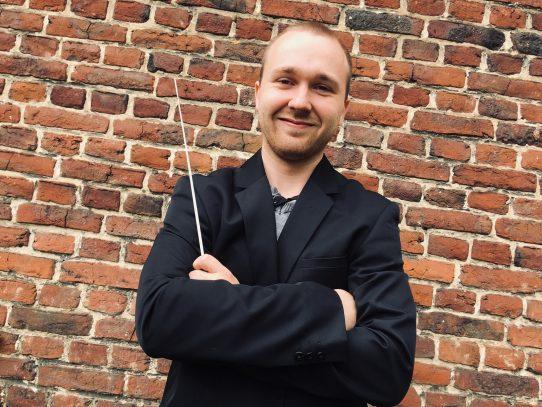 Lillers: Florian Vincent, 22 ans, nouveau chef d'orchestre de l'harmonie d'Auchel