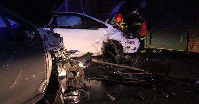 Accident avec délit de fuite à Hurionville