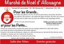 Marché de Noël d'Allouagne samedi 30 novembre et dimanche 1er décembre