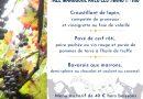 Soirée Beaujolais nouveau au restaurant Un Chef en cuisine à Béthune