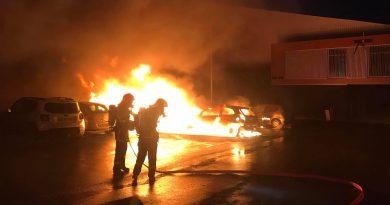 Feu de voitures à Béthune: un homme originaire de Lillers en détention