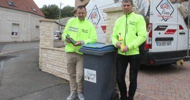 Calonne-Ricouart: une invention géniale pour empêcher les poubelles de s'envoler