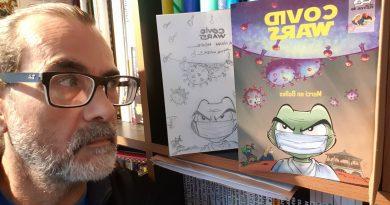 Lillers: le dessinateur Fabien Rypert participe à un album vendu au profit de La Croix-Rouge