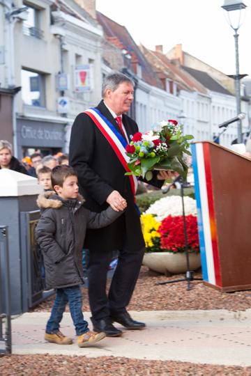 ceremonie centenaire 11 nov Lillers (26)