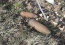Lespesses: deux obus intacts découverts par des promeneurs